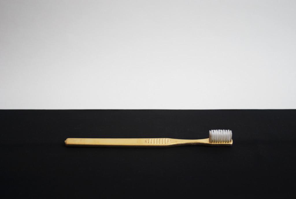 tandbørste guld