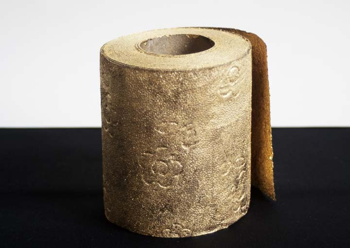 toiletpapir guld