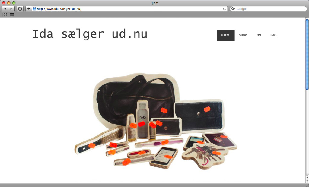 sell out, ida sælger ud.nu, produckts, price