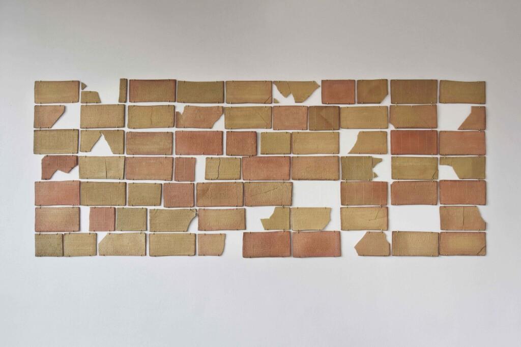 clay tablets photograph binary