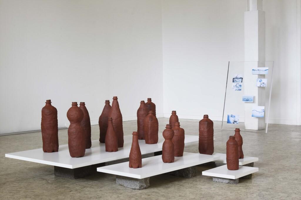 clay bottle